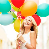 happy-girl-woman-balloons